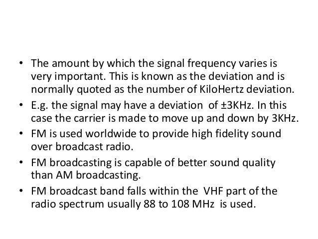 advantages and disadvantages of amplitude modulation pdf