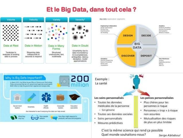 Et le Big Data, dans tout cela ? Serge Abiteboul