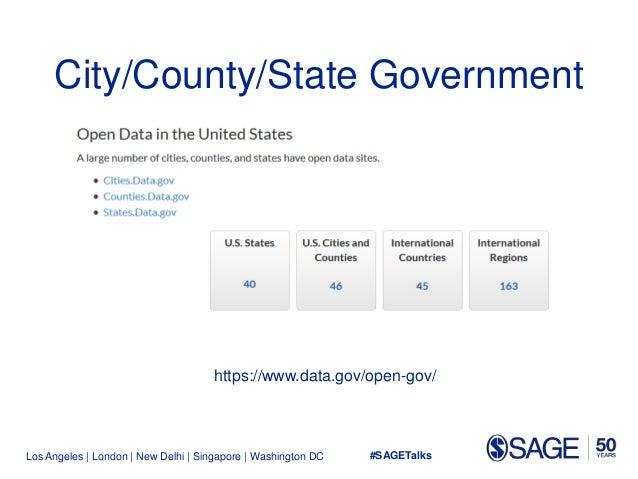 Los Angeles   London   New Delhi   Singapore   Washington DC City/County/State Government https://www.data.gov/open-gov/ #...