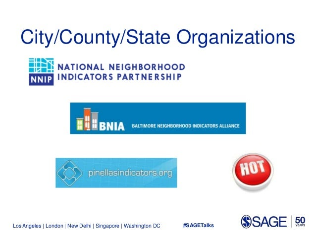Los Angeles   London   New Delhi   Singapore   Washington DC City/County/State Organizations #SAGETalks