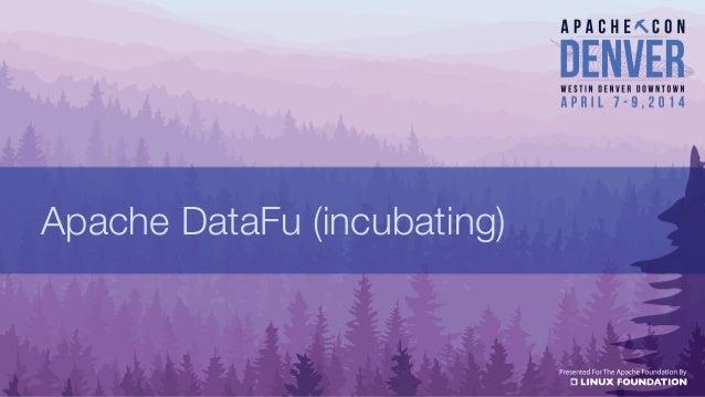 Apache DataFu (incubating)