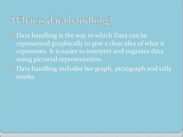 Data handling Presentation with solved examples Slide 2