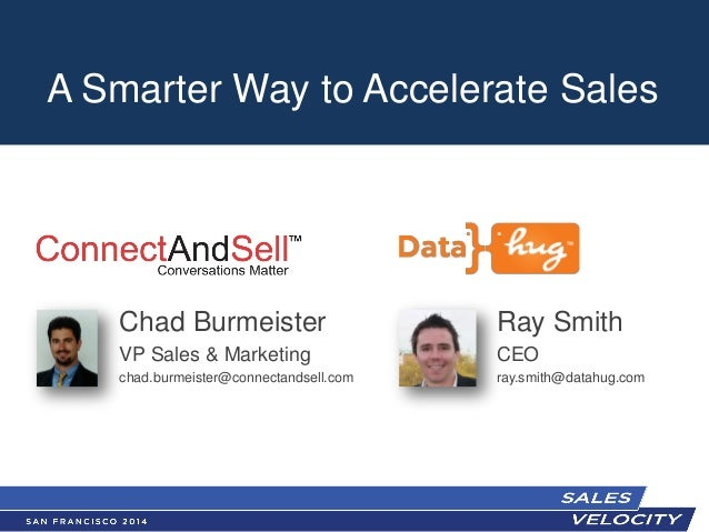 Datahug - Sales Velocity-2014 - A Smarter Way to Accelerate