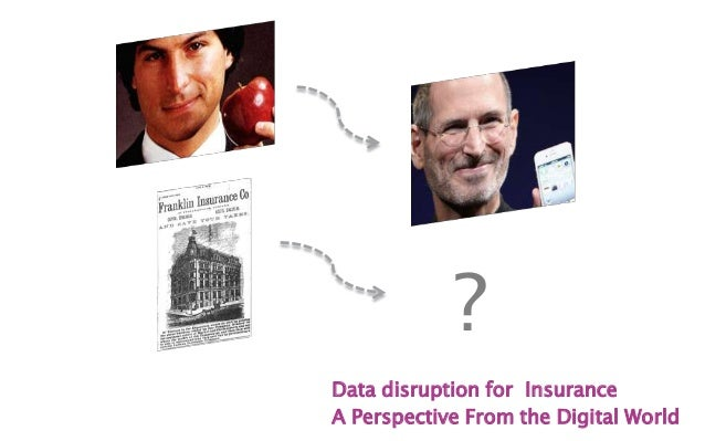 Data disruption for InsuranceA Perspective From the Digital World?