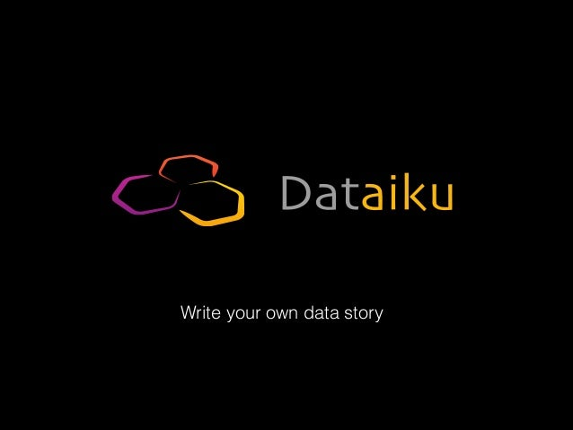 Write your own data story