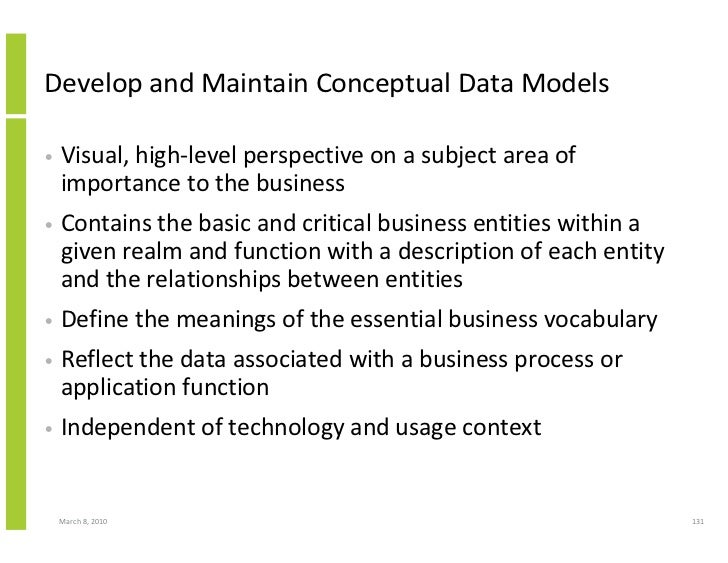 Data, Information And Knowledge Management Framework And The Data Management Book Of Knowledge (Dmbok)