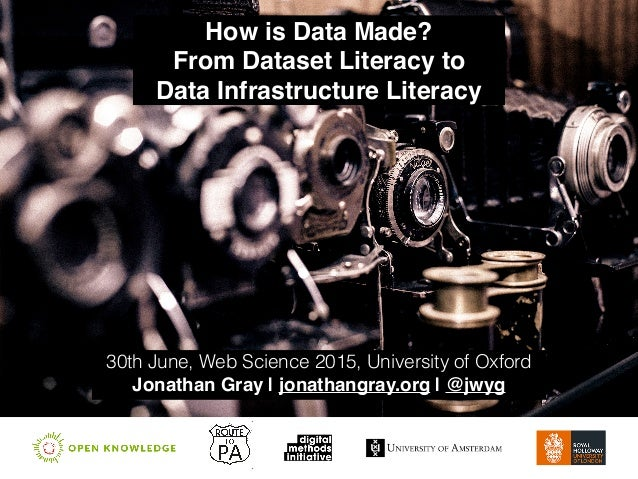 How is Data Made?