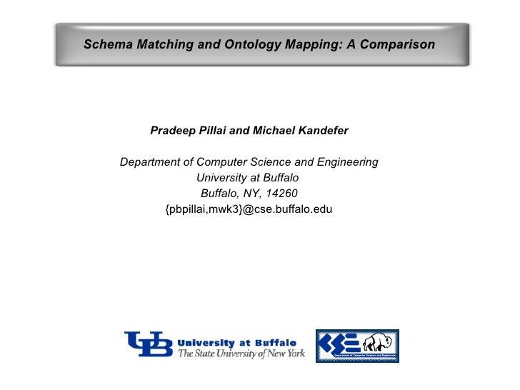 Pradeep Pillai and Michael Kandefer Department of Computer Science and Engineering University at Buffalo  Buffalo, NY, 142...