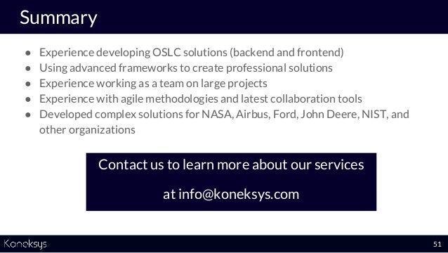 Data Integration Solutions Created By Koneksys