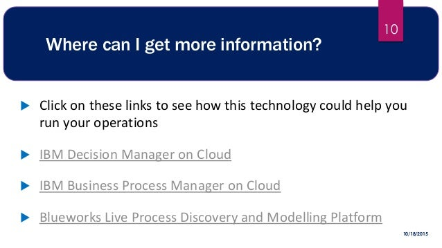 Where can I get more information?  Click on these links to see how this technology could help you run your operations  I...