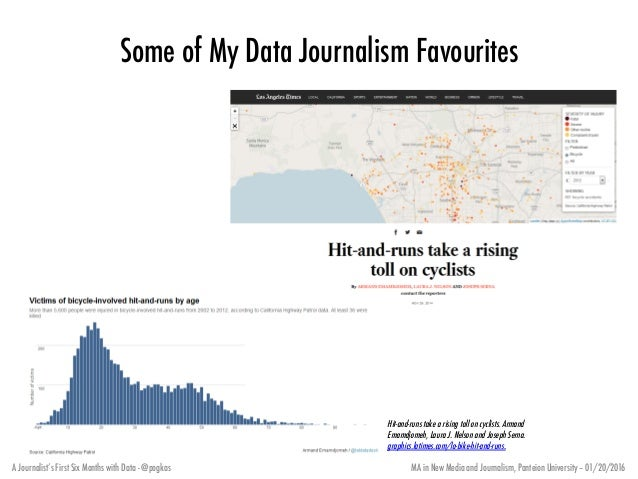 A journalists first six months with data 9 ccuart Image collections