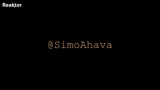 @SimoAhava