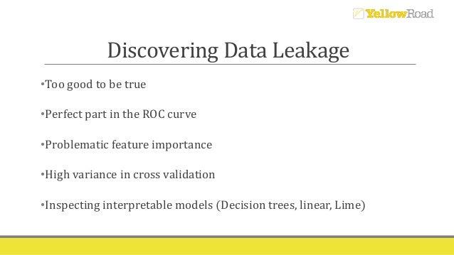 Beware of data leakage