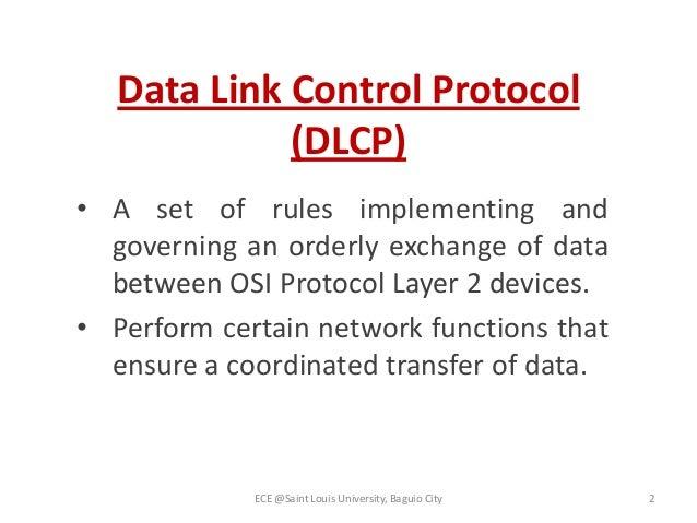 Data link control protocol(1)