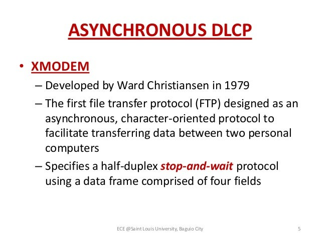 Data link control protocol(2)