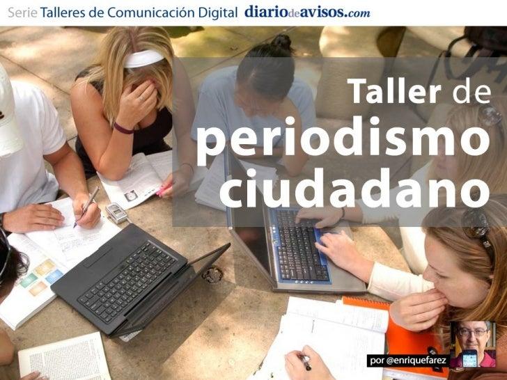 Enrique Fárez es:   Director de Desarrollo de Negocio e Innovación    Digital del Grupo Diario de Avisos   Como periodis...