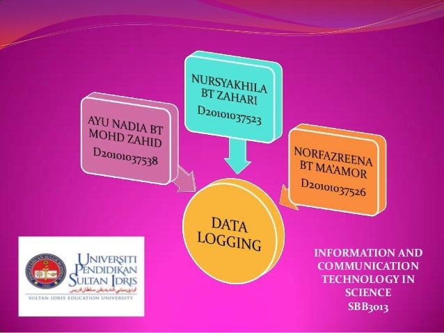 INFORMATION AND COMMUNICATION  TECHNOLOGY IN     SCIENCE      SBB3013