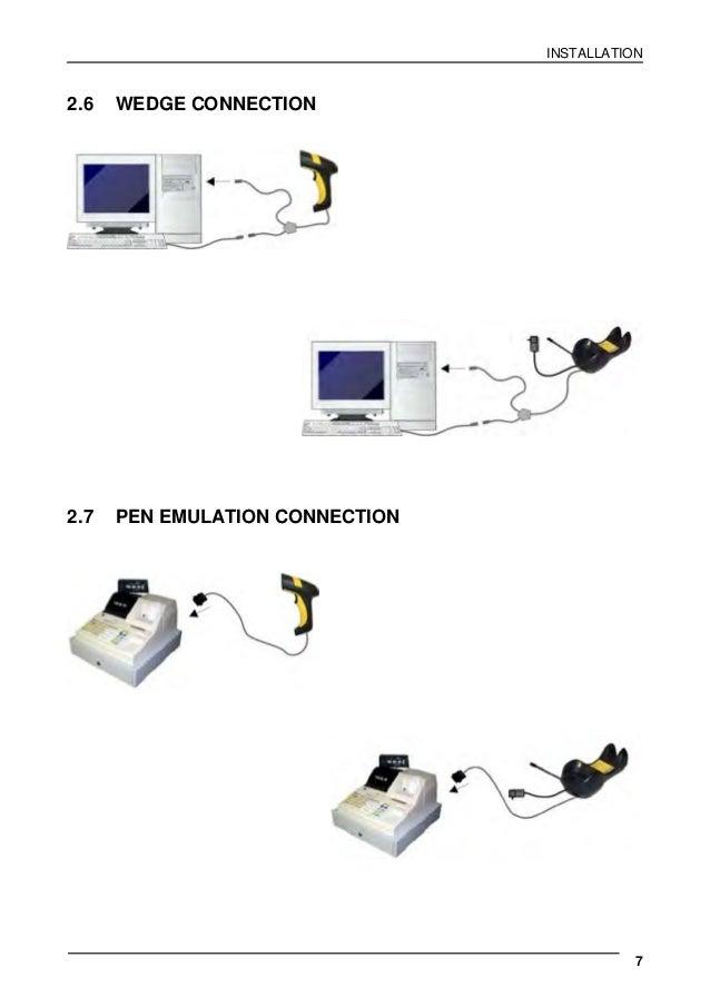 데이타로직스캐너 PowerScan PD8300 1D 유선 바코드스캐너 산업용스캐너 매뉴얼