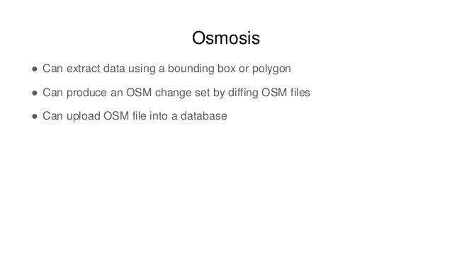 Rob Savoye, Freelance Developer, OSM Data Manipulation | Workshop | S…