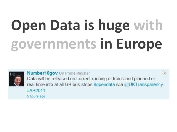 The World Bank       An example of open Data