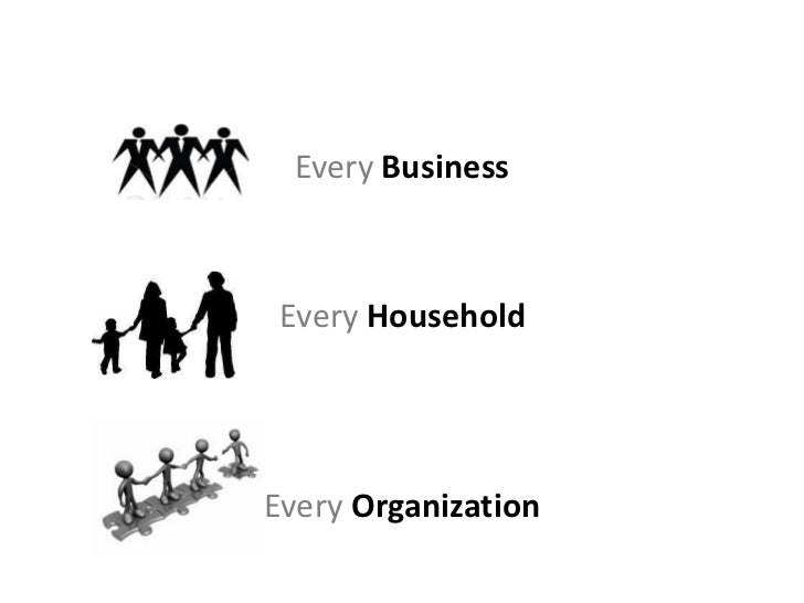 Every Business Every HouseholdEvery Organization