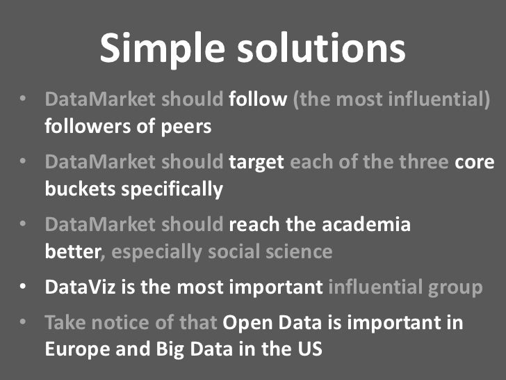 Datamarket: A Start-Up that will Change the World (with Open Data)