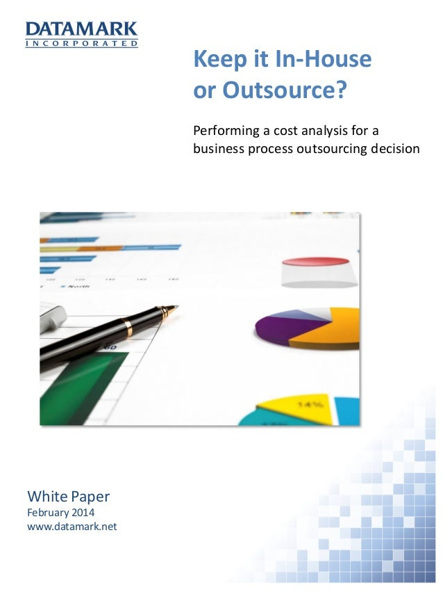 Cost and benefit analysis of outsourcing
