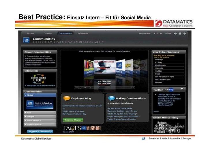 Best Practice: Einsatz Intern – Fit für Social Media