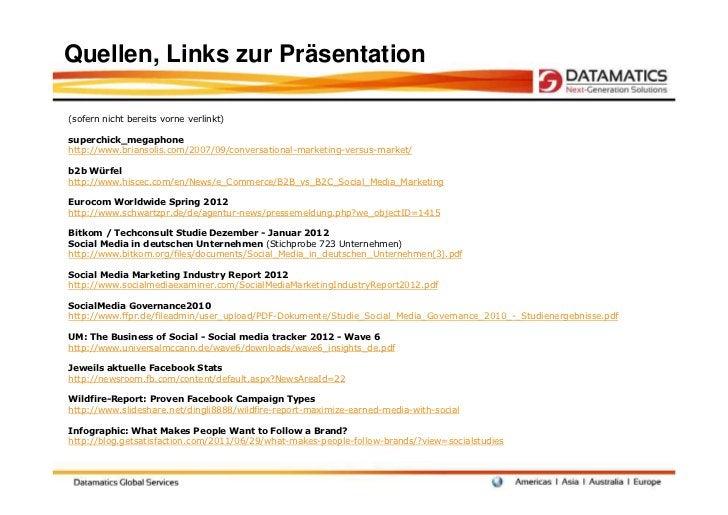 Quellen, Links zur Präsentation(sofern nicht bereits vorne verlinkt)superchick_megaphonehttp://www.briansolis.com/2007/09/...
