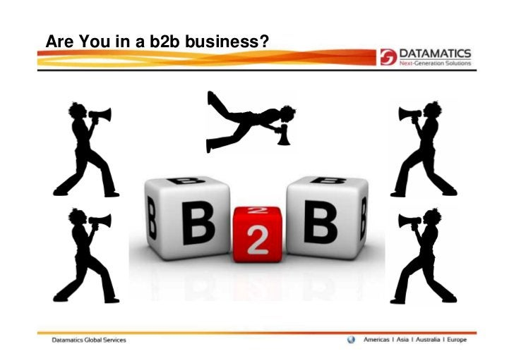 Are You in a b2b business?