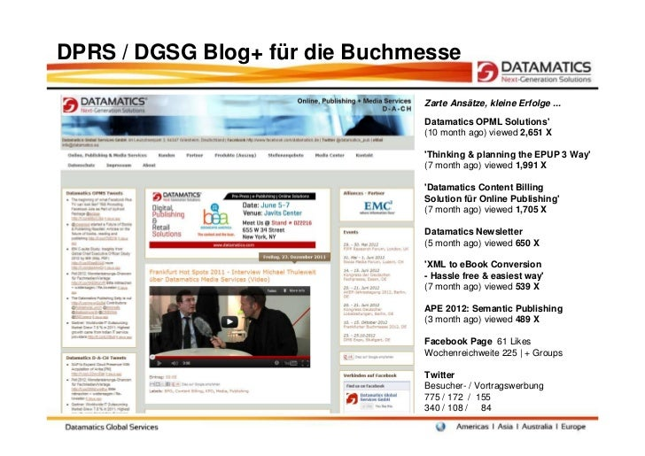 Datamatics Award 2012 Griesheim 'Social Media: Hype - Realität - Nutzen' Slide 3