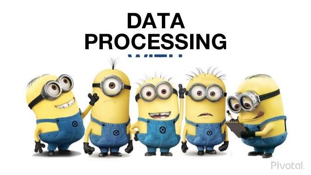 DATA PROCESSING WITH MICROSERVICES
