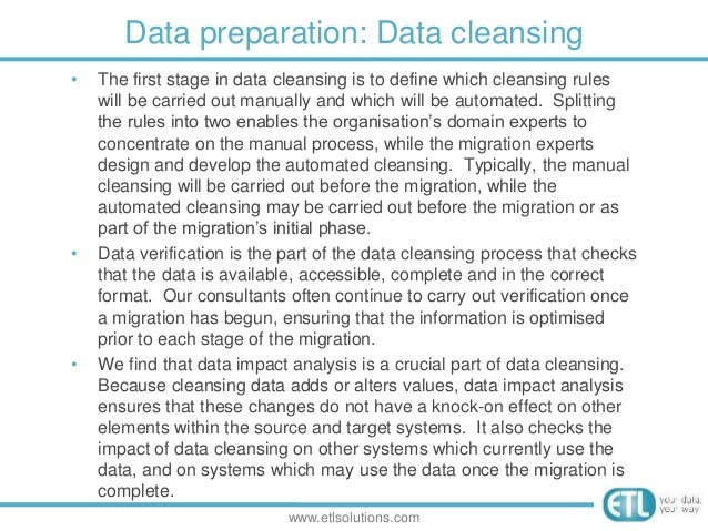 Preparing a data migration plan a practical guide for Data migration document template