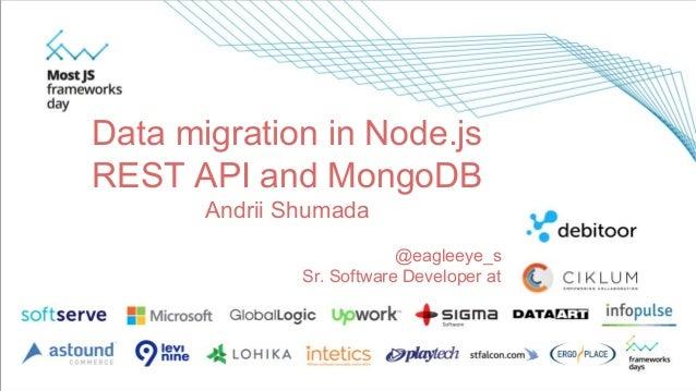 write api in node js date