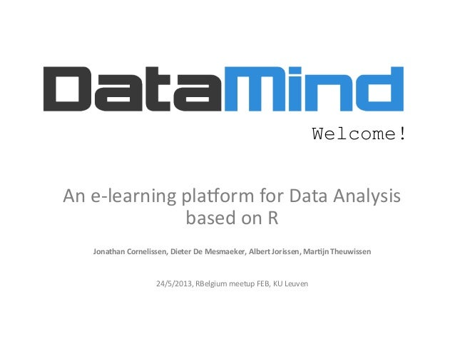 data analysis r · this is my first article in a two-part series introducing stock data analysis using r.