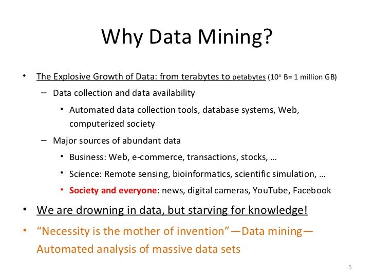 Data mining and analysis solutions