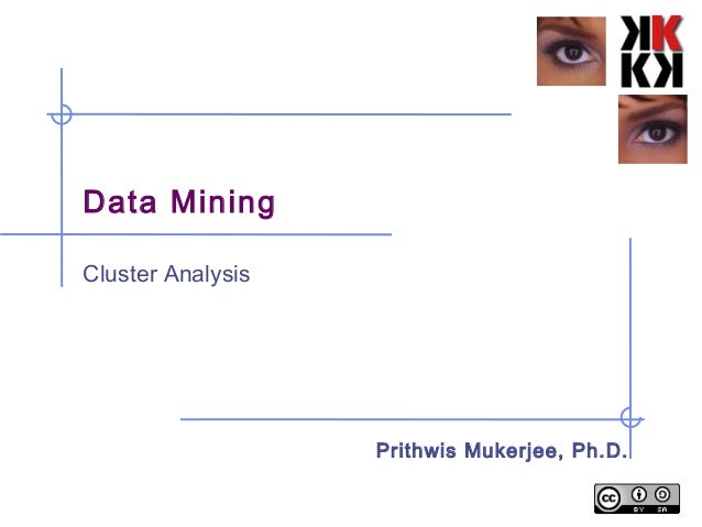 Data Mining Cluster Analysis Prithwis Mukerjee, Ph.D.