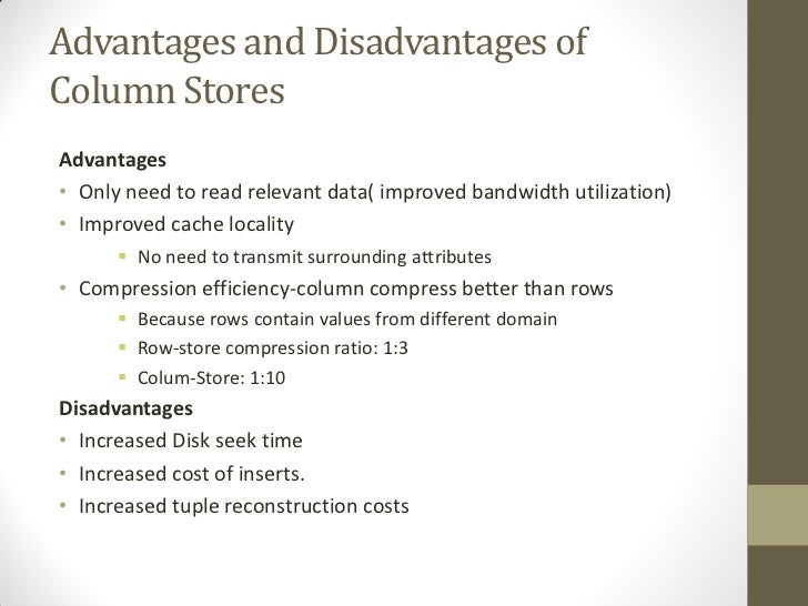 advantages and disadvanyages of department stores What are the disadvantages and advantages of computers own advantages and disadvantages the transfer of data and information from one department to.