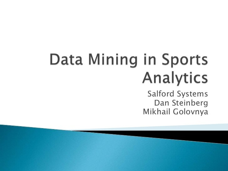 Data mining vs statistics ppt