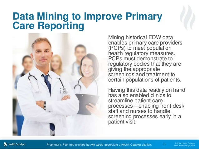 Healthcare management data mining