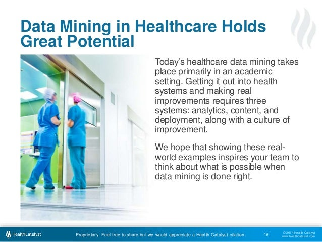 Data Mining In Healthcare How Health Systems Can Improve