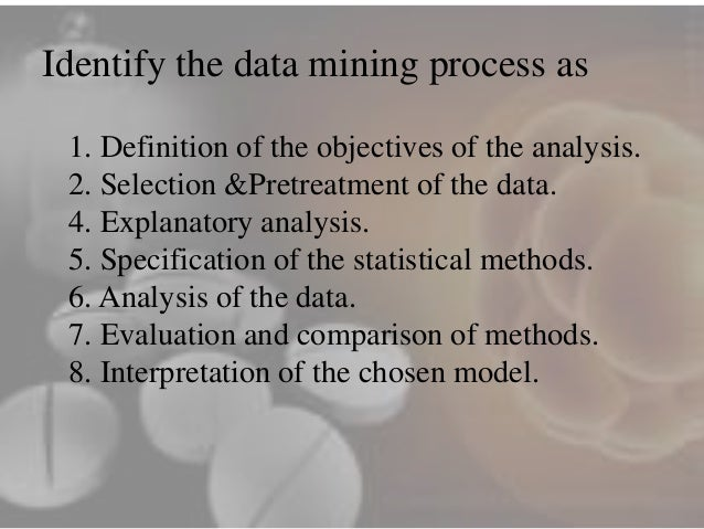 """data mining in the pharmaceutical industry A practical guide to clinical data warehousing over the past decade we have been involved in clinical data warehousing and one thing we still get asked quite frequently is """"what is a clinical data warehouse"""" we recently presented a web seminar on the subject and this prompted us to write this article, where we hope to dispel some of the."""