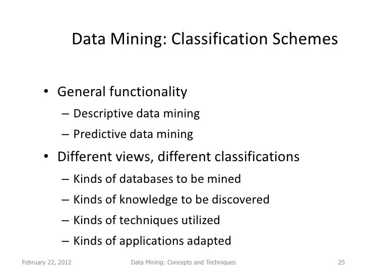 a summary of two data mining techniques In the data mining process, data exploration is leveraged in and scatter charts are part of data exploration techniques that are used if two data points.