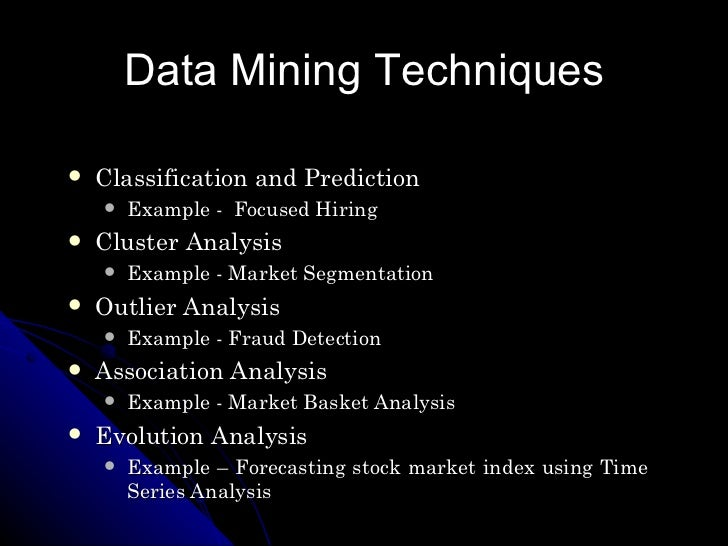 data mining functionalities with examples pdf