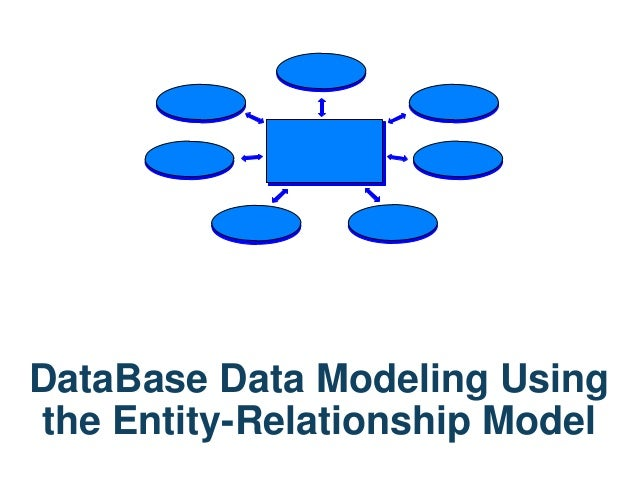 DataBase Data Modeling Using the Entity-Relationship Model