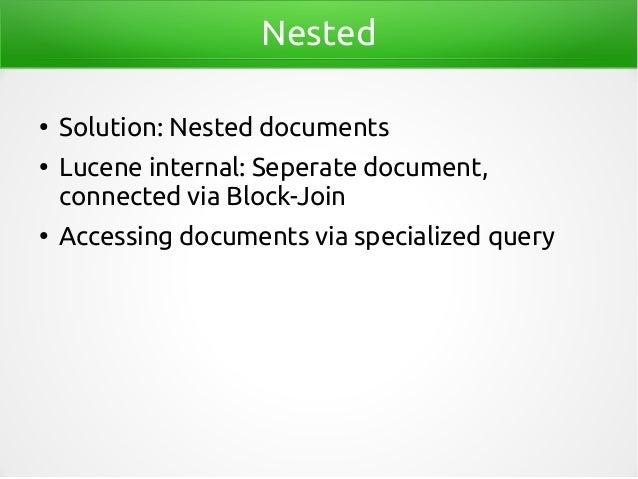 Data modeling for Elasticsearch