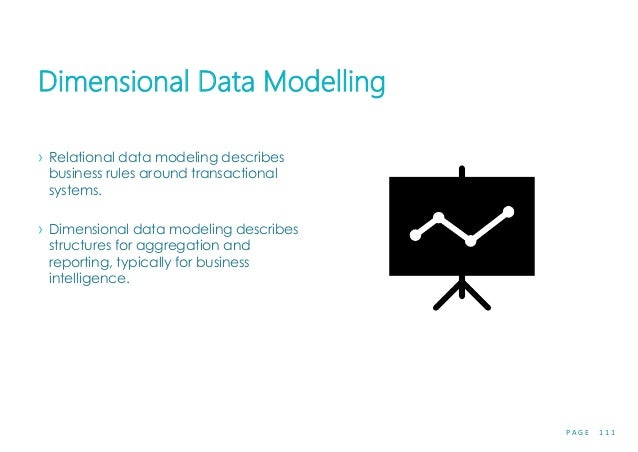 P A G E 1 1 1 Dimensional Data Modelling › Relational data modeling describes business rules around transactional systems....
