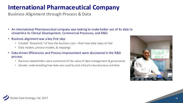 GlobalDataStrategy,Ltd.2017 InternationalPharmaceuticalCompany • AninternationalPharmaceuticalcompanywaslooking...