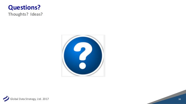 GlobalDataStrategy,Ltd.2017 Questions? 38 Thoughts?Ideas?