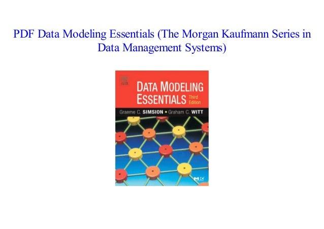 Data Modeling Pdf
